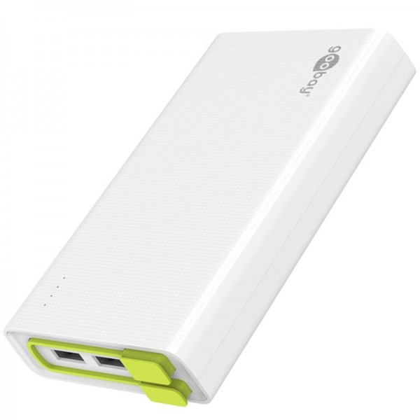 Powerbank mit 20000mAh mit 3mal 2A USB-Ladeausgang