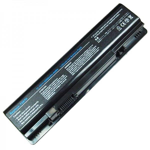 Akku passend für den Dell Vostro A860 Akku, Inspiron 1410, schwarz 4400mAh