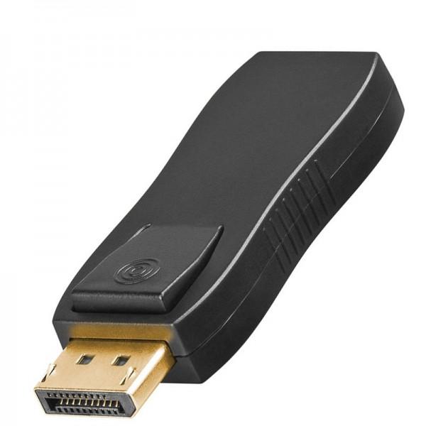 Displayport-Adapter 19-pol.HDMI-Buchse auf 20-poligen DP-Stecker