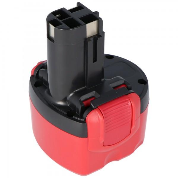 Akku passend für Bosch Bohrschrauber PSR960 NiMH O-Pack 9,6V NiMH Akku 2Ah