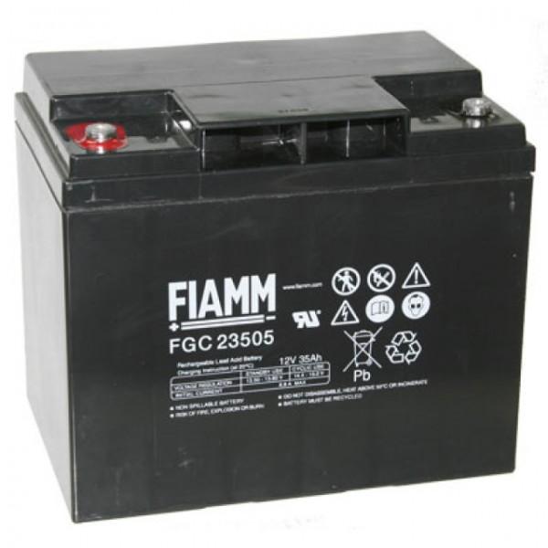 Fiamm FGC23505 Cyclic Blei Akku mit M5 versenkter Schraubanschluss 12V, 35000mAh