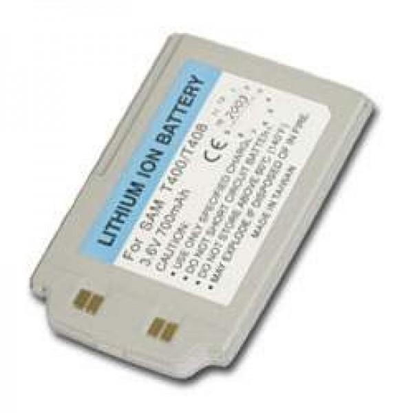 AccuCell Akku passend für Samsung SGH-T400, Samsung SGH-T408, 700mAh