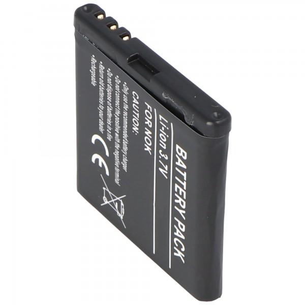 AccuCell Akku passend für Nokia 5700, BP-5M