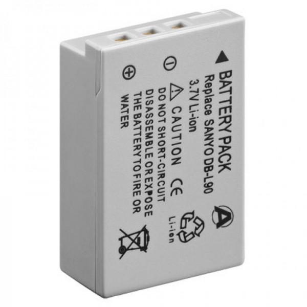 Akku passend für SANYO DB-L90 Akku, VPC-SH1 Serie