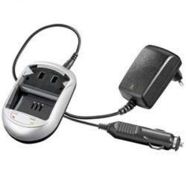 Schnell-Ladegerät passend für Panasonic CGA-S001E, CGR-S001