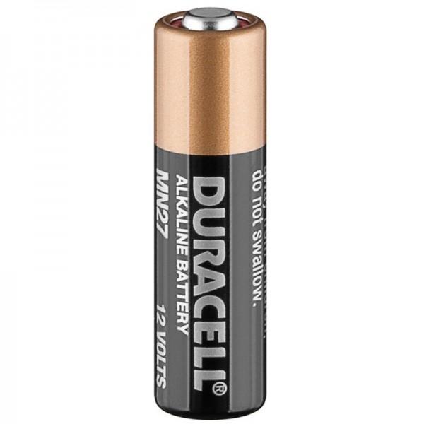 Duracell MN27, LR27 A Alkaline Batterie, 12 Volt, Abmessungen 28,8 x 8 mm