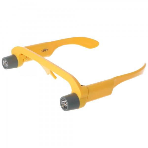 Arbeits-Leucht-Brille mit Standard Krypton Birnchen inklusive 4x AAA Micro LR03 Batterien