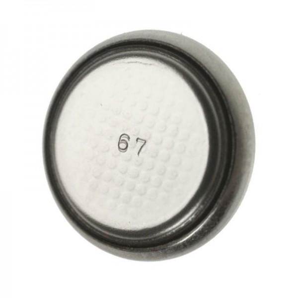 BR1225 Lithium Batterie 3 Volt mit 48mAh, Abmessungen 2,5 x 12 mm