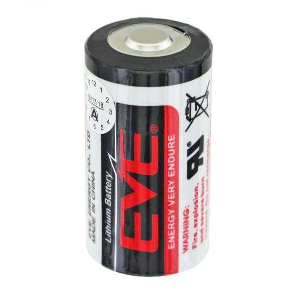 EVE ER26500 Lithium Batterie Baby LR14 C Size, 3,6 Volt 8500mAh mit breitem Pluspol