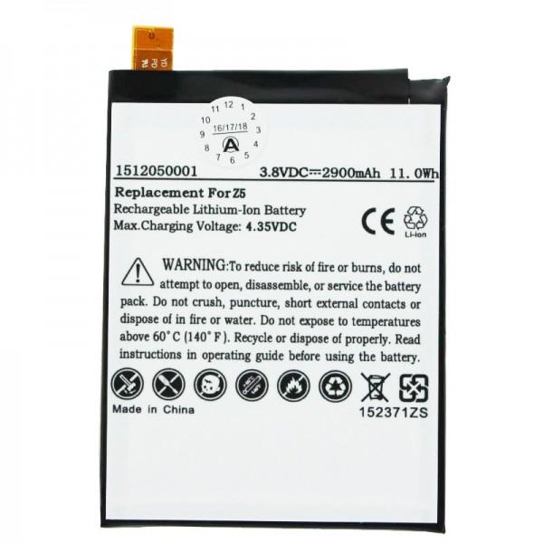 Akku passend für den Sony Xperia Z5 Akku LIS1593ERPC, 3,8 Volt mit 2900mAh