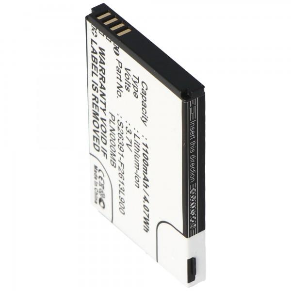 AccuCell Akku passend für Fujitsu-Siemens Pocket Loox N110