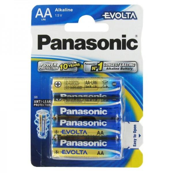 Panasonic EVOLTA Batterie die neue Alkaline Batterien Mignon/AA