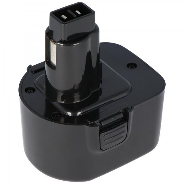 AccuCell battery for Dewalt ELU EZWA 49, 12V / 1,4Ah NiMH