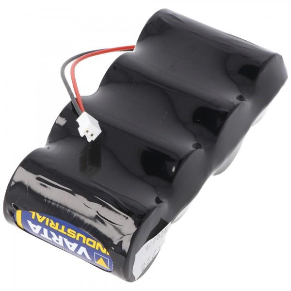 Varta Alkaline Batterie Pack 6 Volt mit Kabel und Stecker 6 Volt