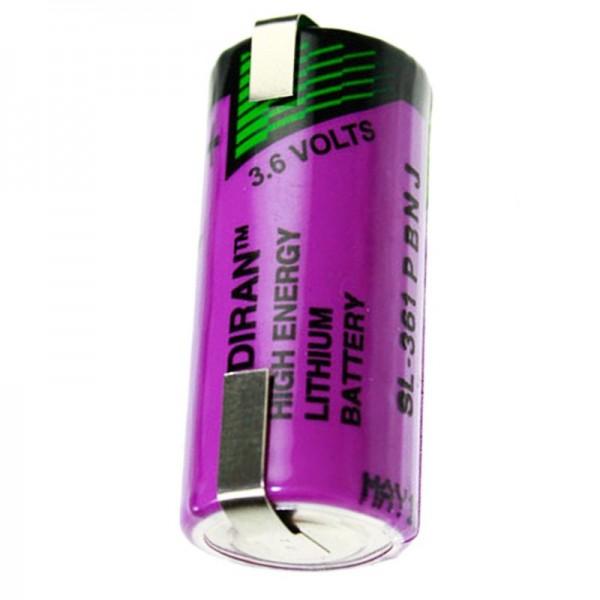 Sonnenschein Inorganic Lithium Battery SL-361 mit Lötfahne U-Form