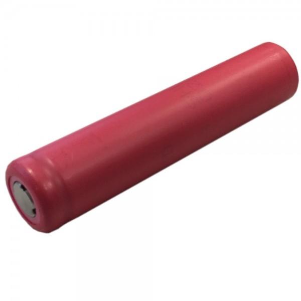 Sanyo UR14650R 1000mAh, 3,6V - 3,7V Li-Ion-Akku ungeschützt (Flattop), Abmessungen 14,1x64,8mm