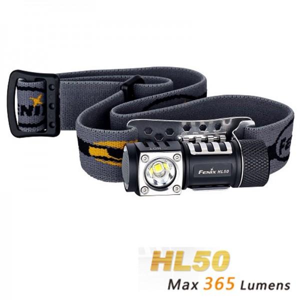 Fenix HL50 LED Stirnlampe mit bis zu 350 Lumen Helligkeit