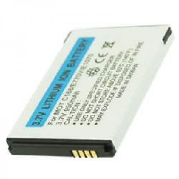 AccuCell Akku passend für Motorola MOTO Q, BT60, CFNN1042