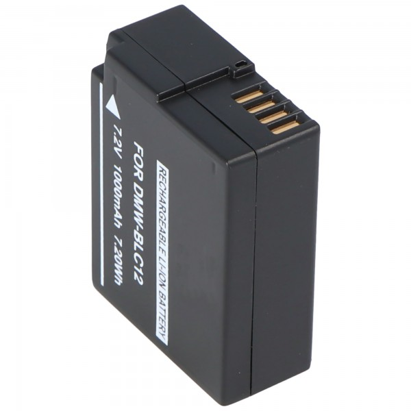 Akku passend für Panasonic DMW-BLC12, DMW-BLC12E, DMC-GH2