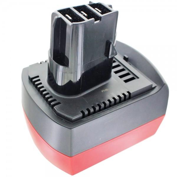 Akku nur passend für den Metabo 12 Volt Akku Li-Ion air cooled 6.25486 12V 4Ah, Kontakte und Kunststoff beachten