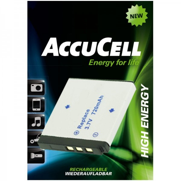 AccuCell Akku passend für Rollei XS-10 in Touch Akku