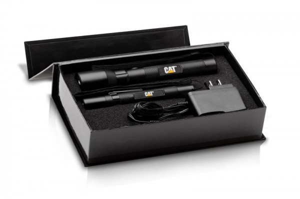 CAT CT12357P LED Taschenlampen 2er Set in schöner Geschenkbox