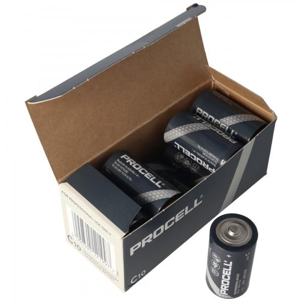Duracell Procell MN1400 Baby LR14 Batterie 10er Karton