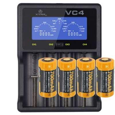 Panasonic 18650 Li-ion Akku geschützt mit 3,7 Volt, 3400mAh und LCD ...
