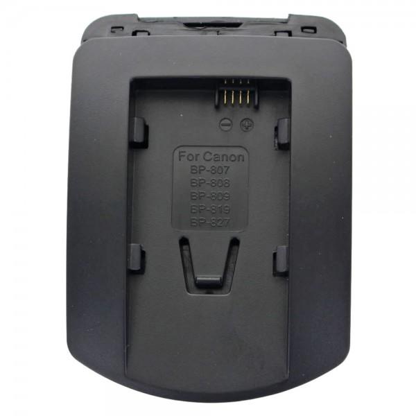 Ladeschale nur passend für Canon Akku BP-807, BP-808, -809, -819
