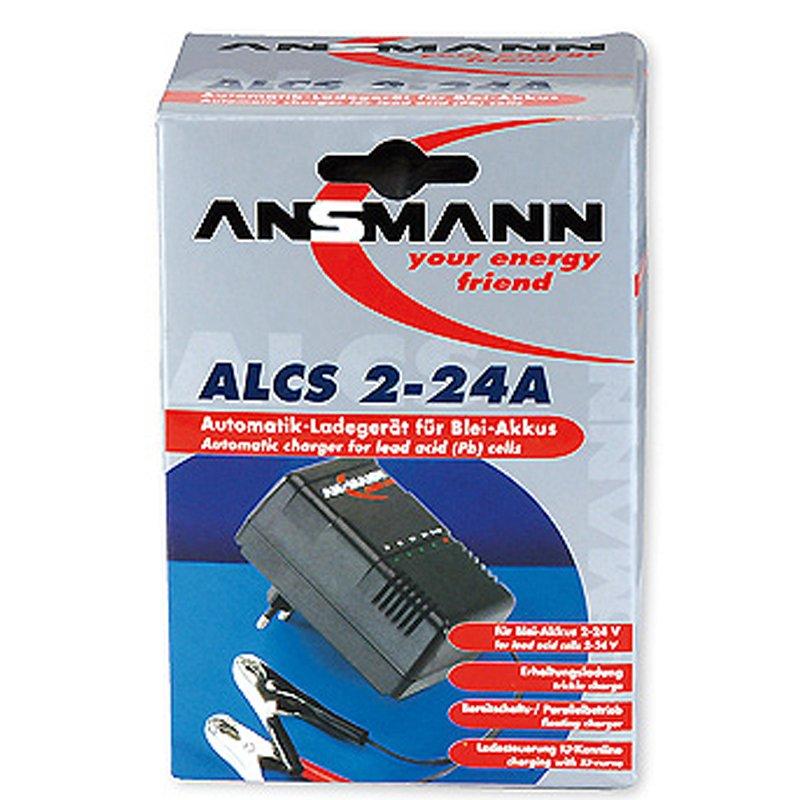 Ladestrom 0,9A Ansmann ALCS 2-24A Ladegerät für Blei-Akku 2-24V
