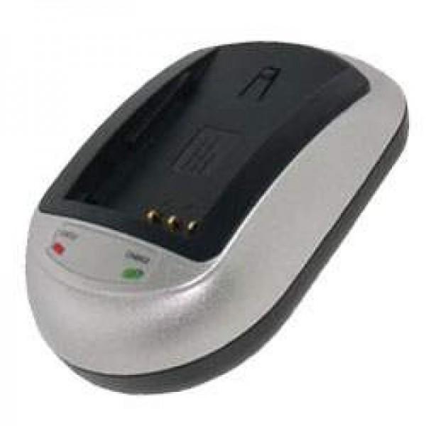 Schnell-Ladegerät passend für Panasonic CGA-S005, DMW-BCC12
