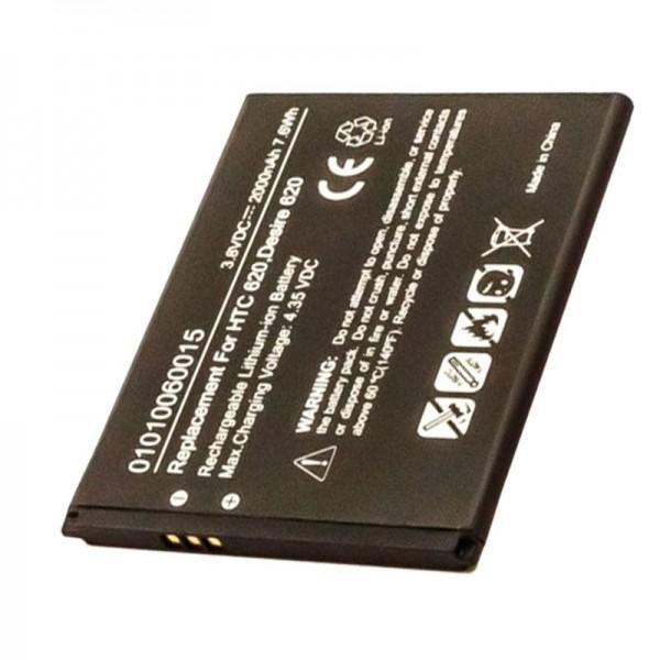 Akku passend für den HTC Desire 620 Akku 53264031, B0PE6100, BOPE6100