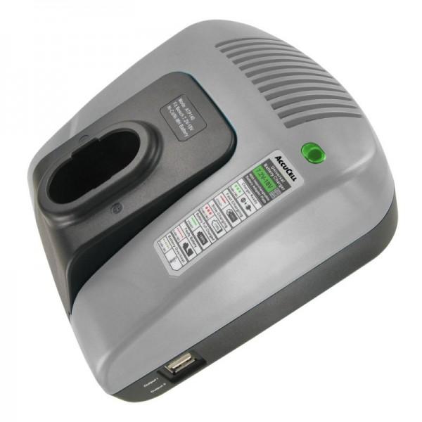 Ladegerät passend für BLACK & DECKER Akku A9251, A9252, A9262, A9267, A9274, A9275, A9276, A9282