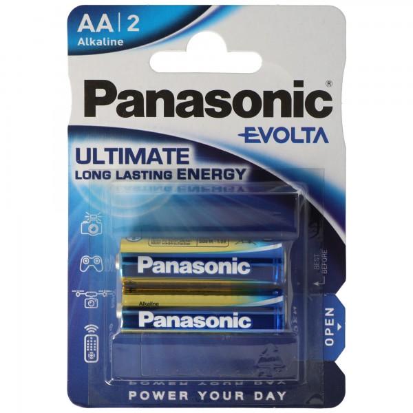 Panasonic Evolta Mignon LR6 AA Mignon 2er Blisterkarte