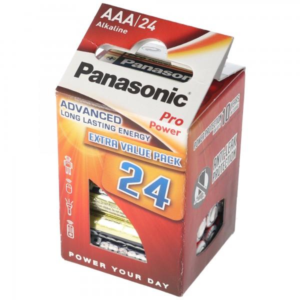 Panasonic Pro Power Micro / AAA / LR03 Batterien im 24er Pack
