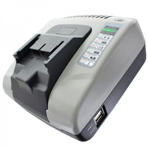 Ladegerät passend für Hitachi Akku BSL 1415, BSL 1415X, BSL 1430, 330067, 330068, 330139, 330557, BSL 1815X, BSL 1830, BSL 184