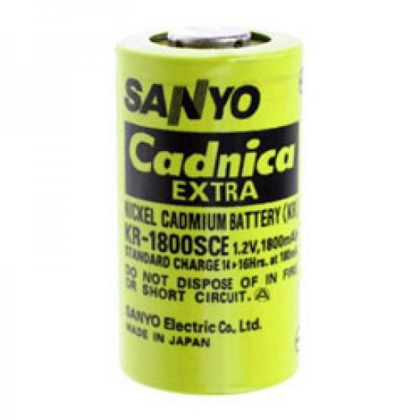 Sanyo KR-1800SCE Akku Sub-C Einzelzelle ohne Lötfahne