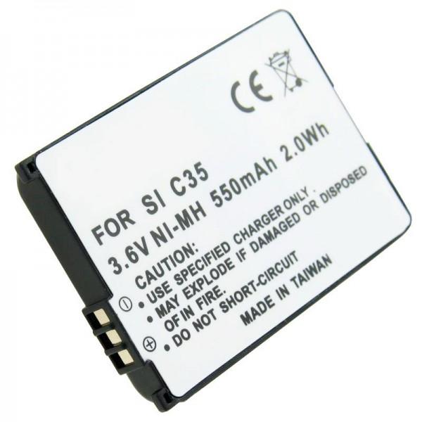 NiMH Akku passend für Siemens Gigaset 4000 Micro, V30145-K1310-X131, V30145-K1310-X132, V30145-K1310-X133