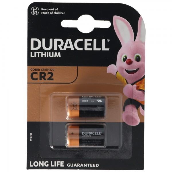 Duracell Photobatterie CR2 Ultra Lithium 3Vmax. 850mAh im 2er Blister, CR15H270