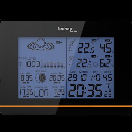 WS 6750 - Moderne Wetterstation mit Alarmfunktion