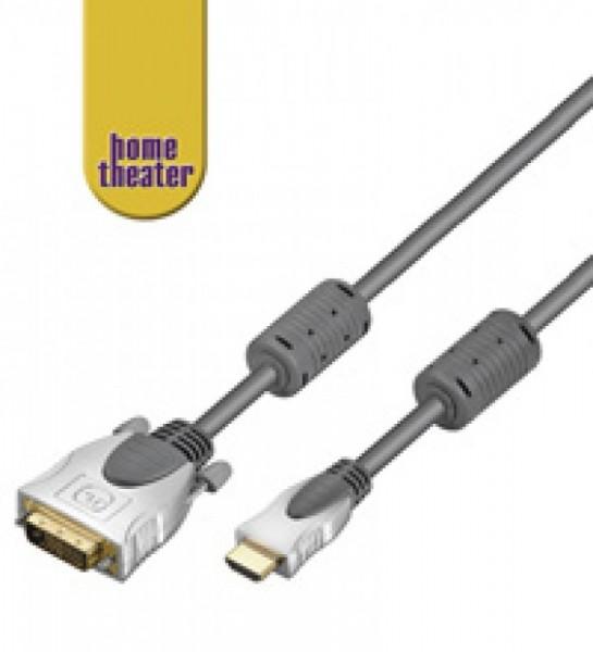 HDMI Home-Theater HDMI -> DVI-D Stecker 3 Meter