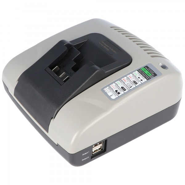 Schnell-Ladegerät passend für den Dewalt Akku Li-Ion 7,2 Volt bis 18 Volt