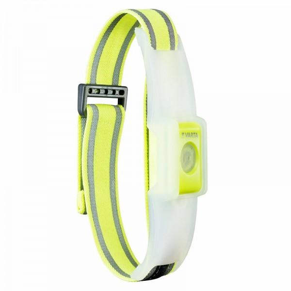 Varta LED Reflektorband ideal für Jogger, Gassigeher, Fußgänger, Walker
