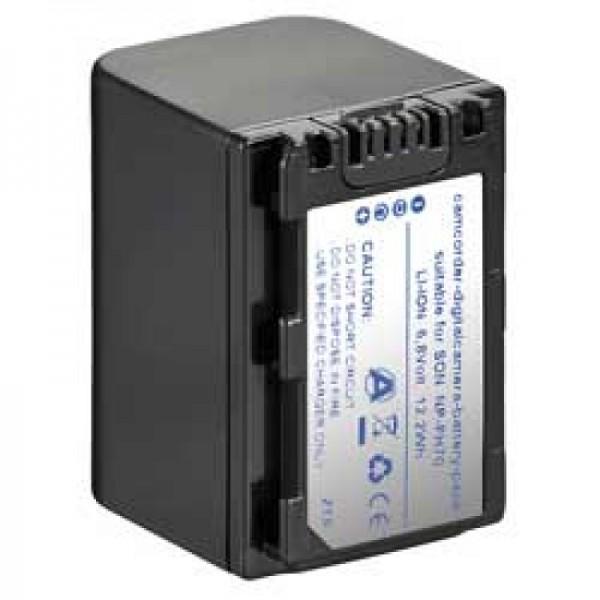 Akku passend für Sony NP-FH70 H-Serie Camcorder