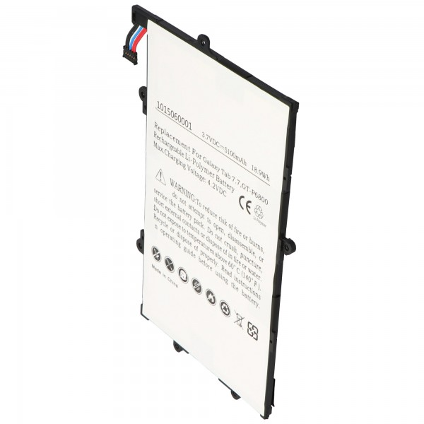 Akku passend für den Samsung Galaxy Tab 7.7 Akku GT-P6800, SP397218A