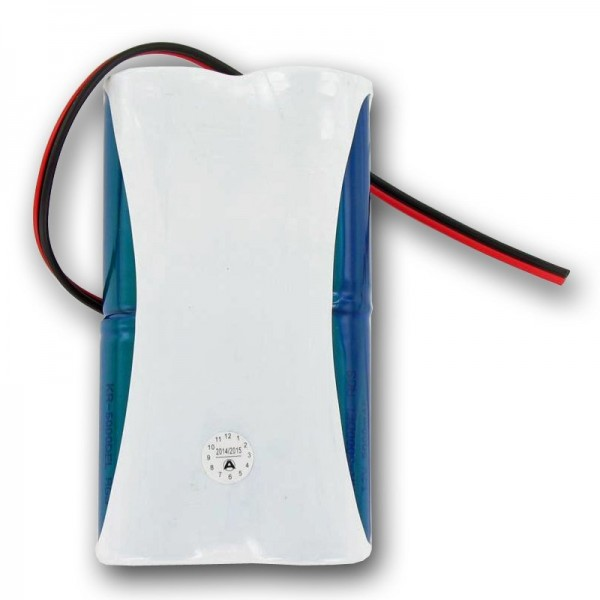 Akku passend für DANTONA TEB-40667-01 4,8 Volt ohne Stecker, 2 Stück