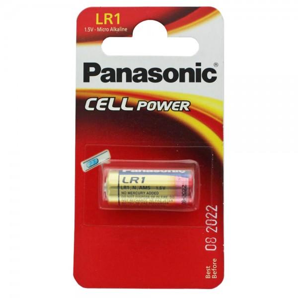 Panasonic PowerMax3 LR1, Lady Size N, GP910A, E90, 1,5 Volt max. 900mAh