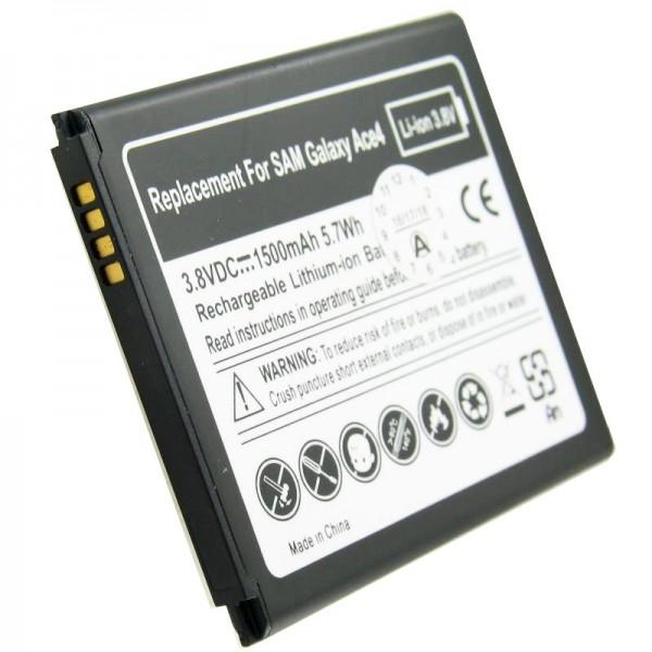 Akku passend für den Samsung EB-B130BE Akku Galaxy Ace 4, Samsung Galaxy Ace Style, SM-G310 mit 4 Kontakten