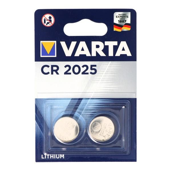 Varta CR2025 2er Blister Verpackung