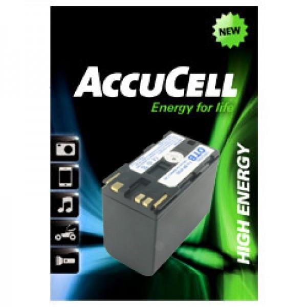 AccuCell Akku passend für Canon BP-945 , BP-950 , BP-950G , BP-970 , BP-970G